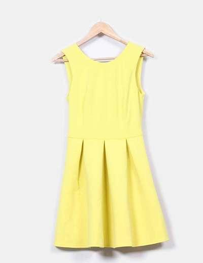 Vestido amarillo nepreno  Asos