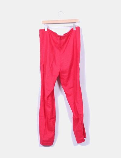 Pantalon coral de ramio