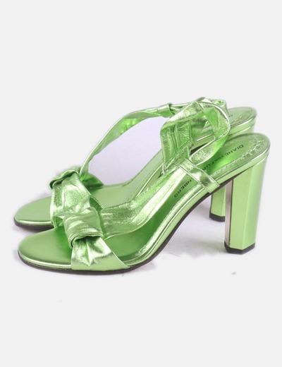 Sandálias de tacão Diane Von Fürstenberg