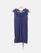 Camiseta larga azul marina Hoss Intropia