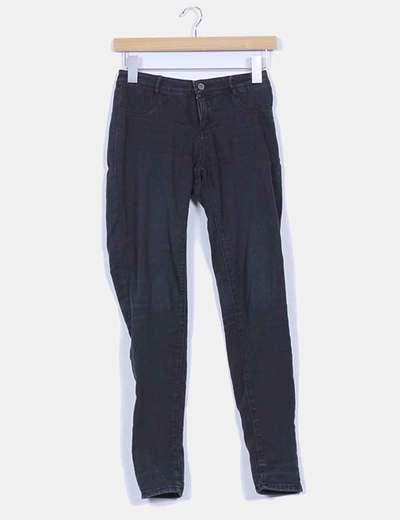 Jeggings denim negro Zara