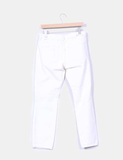 Jeans denim color crudo ripped