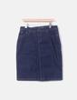 Falda midi azul marina MAS fashion