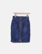 Saia jeans com zíper Bimba&Lola
