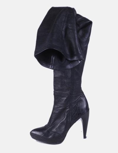 Botas caña negras