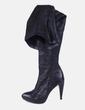 Botas caña negras Zara
