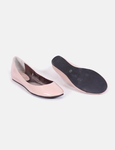 imágenes detalladas disfruta del envío gratis ventas calientes Bailarinas rosa palo