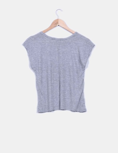 Top gris canale print