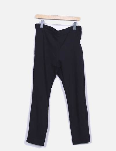 Pantalon vestir negro Stradivarius