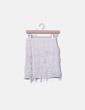 Falda color crudo flecos luisaj&j