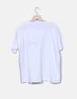 T-shirt blanc imprimé de lettres Zara