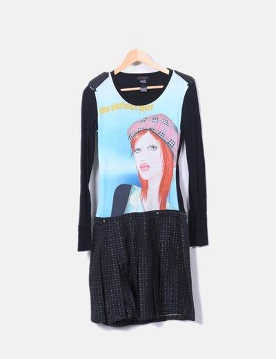 Robe imprimé fille Custo Barcelona