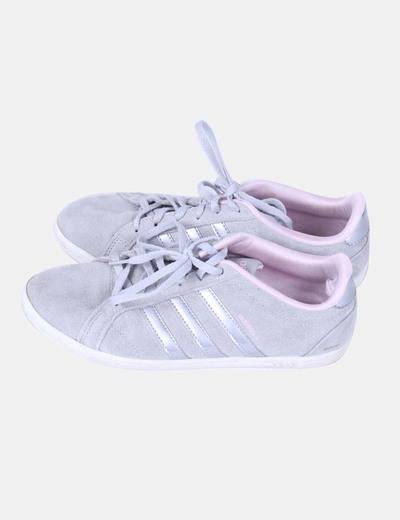 e15a051c1a841 Adidas Deportiva gris y rosa (descuento 72%) - Micolet