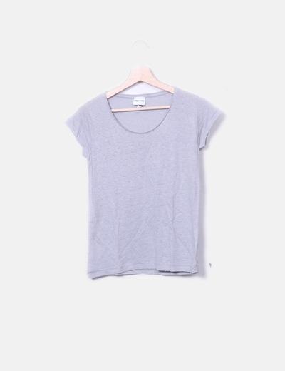Camiseta tricot de manga corta Bimba&Lola