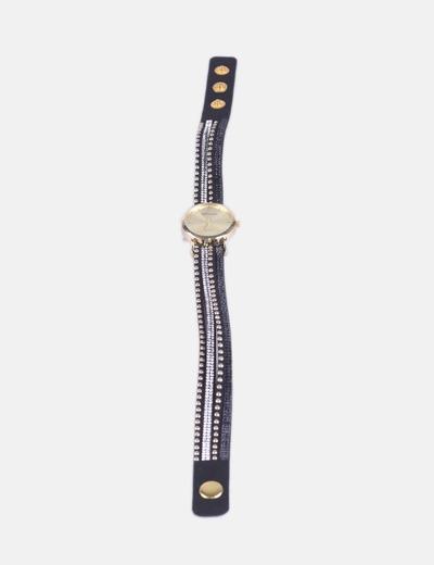 Reloj con correa strass