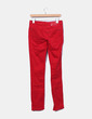 Pantalon rouge denim slim fit Morgan
