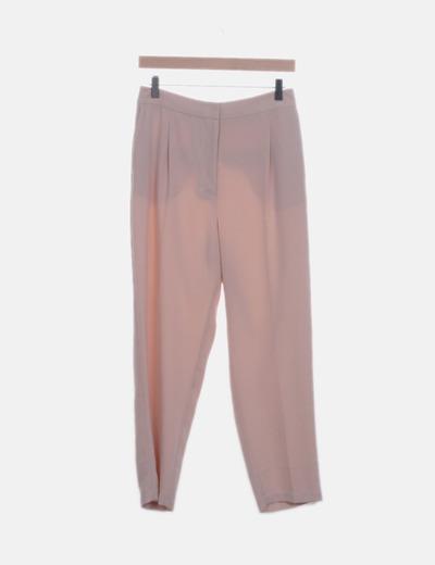 Pantalón chino beige fluido