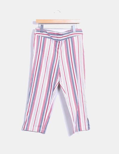 Pantalón pirata a rayas  Lloyd's