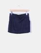 Falda mini azul marino Bershka