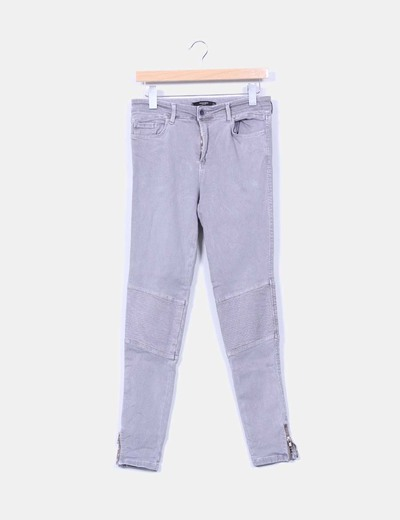 Pantalón gris Mango