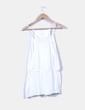 Blusa blanca peplum étnica Vero Moda