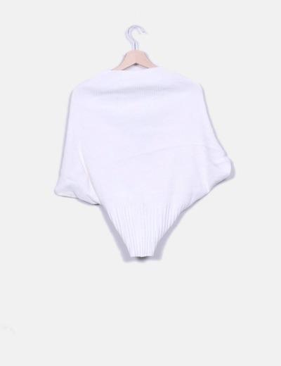 Jersey blanco de punto