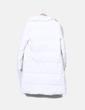 Chaquetón blanco Zara