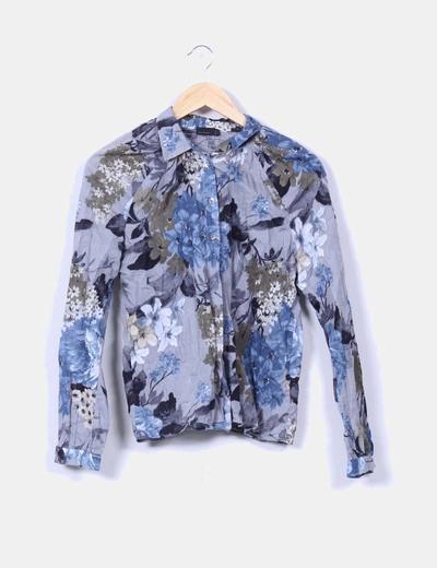 Camisa floral manga larga Vero Moda