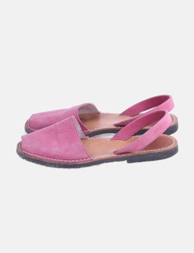 Menorquina cuero rosa