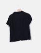 Camisa negra manga corta Anne Weyburn