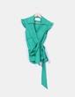 Camisa verde cruzada Suiteblanco