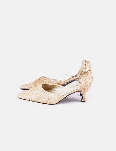 Boutique en ligne 1dc1a 1f5b1 Zapatos fiesta dorados