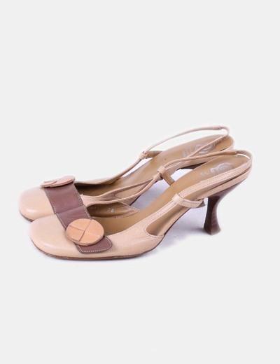 Zapato bicolor destalonado Ursula Mascaró