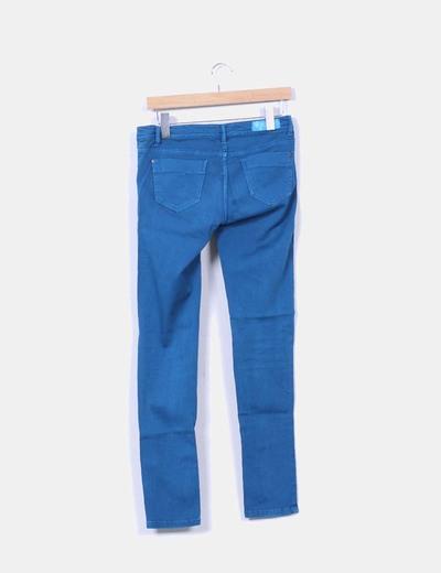 Pantalon azul turquesa