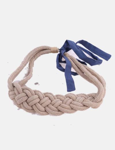 Cinturón trenza con lazo