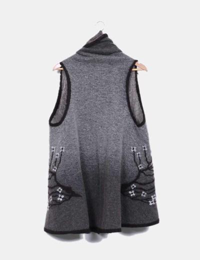 Chaleco oversize de lana