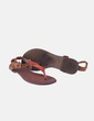 Sandalia marrón antelina Primark