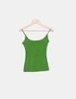 Top verde de tirantes Soft Grey