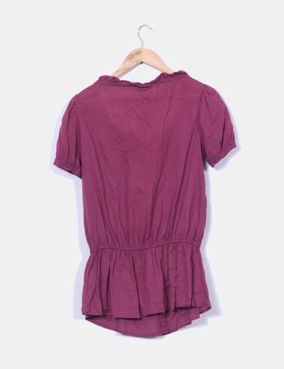 Blusa color vino