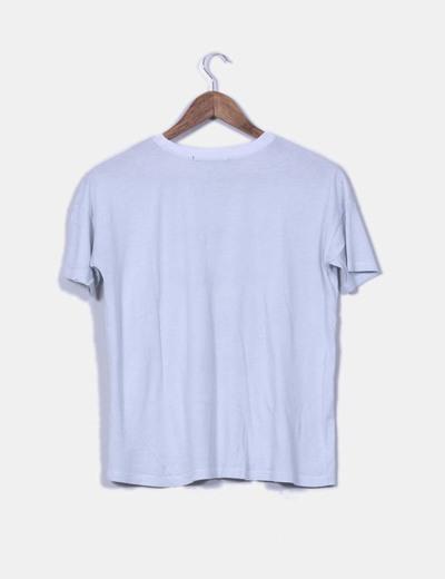 Camiseta print letras