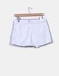 Falda pantalón blanco Zara