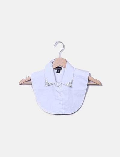 Cuelo camisa con strass