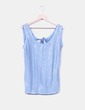 Camiseta azul combinado con lentejuelas NoName