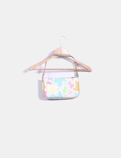 Bolso mini estampado multicolor