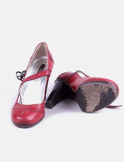 Para estrenar 6e772 907e5 Zapatos vintage granates