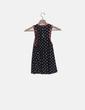 Camiseta topos negra Zara