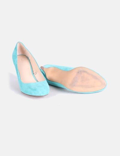 Turquesa Micolet Heels 64 descuento Kitten Zara Zapatos qwv411