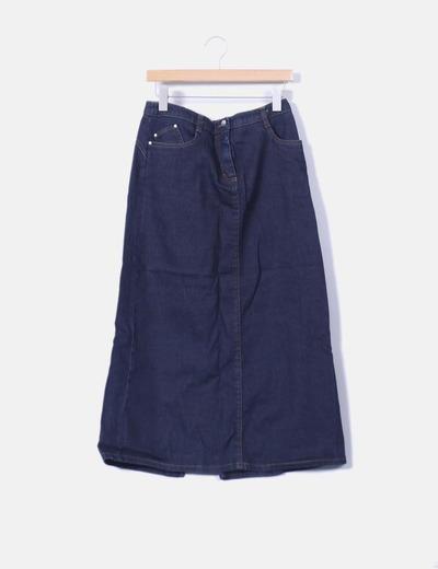 Maxi falda denim Cerruti Jeans