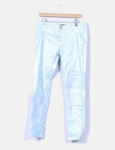 Pantalón azul con brillo URBAN