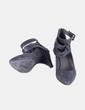 Zapato gris de tiras  Suiteblanco